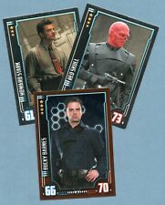 CAPTAIN AMERICA FIRST AVENGER Hero Attax Marvel Cinematic Universe.- 3 cards