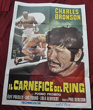Kid Galahad Elvis Presley Charles Bronson 40x56 Italian Poster - (1962) ITB WH