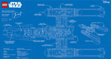 Lego 75181 Y Wing Blueprint Poster Star Wars * Black VIP card Exclusive Print