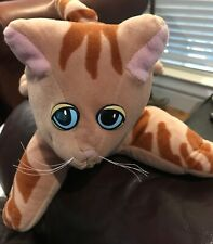 Pound Purries Kitty Cat Brown Striped Tabby Tonka Plush 14in Vintage 1985 Toy