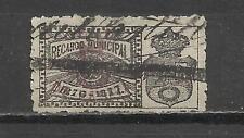 7115-SELLO LOCAL FISCAL CLASICO MADRID 1875 RARO,SPAIN CLASSIC STAMP.RARO