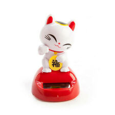 LUCKY CAT Solar Powered Dancing Animals Sun Catcher Bobble Head Toy Home Dancer