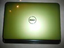 Green Dell Inspiron 1012 Mini Netbook Win7 - 10.1