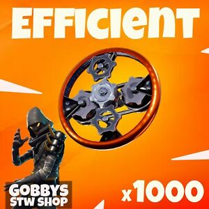 Fortnite Save The World - 1000 EFFICIENT - FOR PC - XBOX - PS4