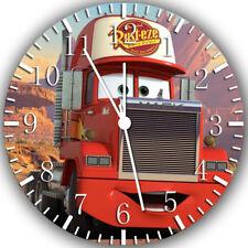 Disney Cars Mack Frameless Borderless Wall Clock Nice For Gifts or Decor W261