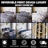 Luxury Premium Quality Print Duvet Quilt Cover Bedding Set Pillowcases All Size