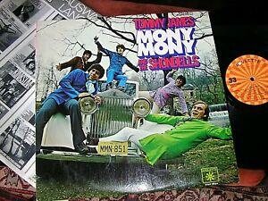 TOMMY JAMES & THE SHONDELLS -    Mony Mony,     RARE ORIGINAL 1968 LP / inner