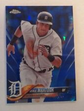 2018 Topps Chrome Sapphire Blue (250 Made) MIKIE MAHTOOK Tigers #408