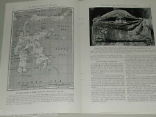 1940 article about The CELEBES ISLANDS, South Pacific pre WWII, Sulawesi natives