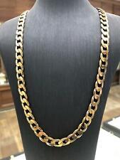Cadena De Oro Plateado Joyería Collar de Belcher 24 in approx. 60.96 cm