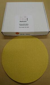 Drywall Sanding Discs Belmore Yellow 220 mm (15)