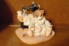 Enesco Calico Kittens - Stitch in Time Saves Nine