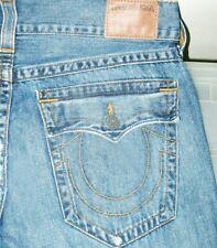*HOT Men's TRUE RELIGION @ RICKY DROIT - RELAXED STRAIGHT LEG Denim Jeans 34 x33