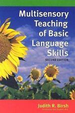 Multisensory Teaching of Basic Language Skills (2005, Hardcover)
