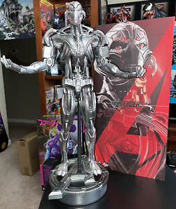 Sideshow Hot Toys MMS 284 Avengers Age of Ultron - Ultron Prime 1/6 - US Seller