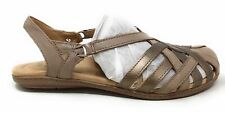 Earth Origins Women's Belle Brielle Slingback Sandals Taupe Leather Size 8 N