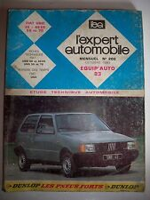 FIAT Uno - Revue technique L'Expert Automobile