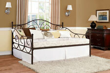 """DHP Victoria Full Size Metal Daybed- 5544296 Bed 56"""" x 77.5"""" x 46.5"""" NEW"""