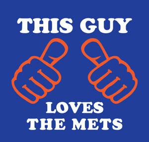 This Guy Loves The Mets shirt baseball New York NY Lindor DeGrom Alonso Walker
