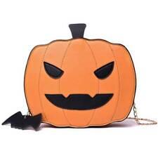 Halloween Funny Pumpkin Handbag Candy Bag Little Devil Shoulder Messenger Bag kr