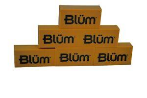 BLUM ART GUM ERASER x6 - removes pencil from books and paper - SLIGHT SECOND