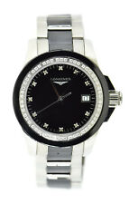 Longines Conquest Diamond Stainless Steel Watch L3.281.0.57.7