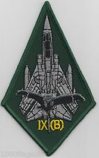 RAF no. 9 Squadron 2014 Ops Royal Air Force Embroidered Badge Patch MOD Approved
