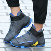 Men's Basketball Shoes Sports Boots Running Athletic Canvas Sneakers Fashion