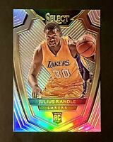 2014 Panini Select Silver Prizm Julius Randle Rookie RC Premier Level #150