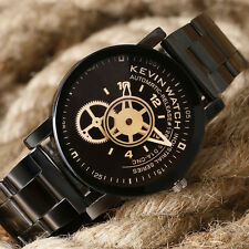 Men's Women Quartz Watch Stainless Steel Band Date Analog Luxury Wrist Watches
