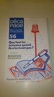 Décapage, N° 56 (Revue littéraire)