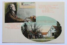 Old UDB postcard WALTER KITTREDGE SONG WRITER, HOMESTEAD, MERRIMAC N.H. pre 1907