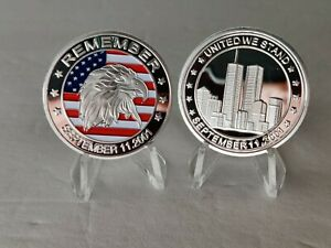 September 11th United We Stand Challenge coin 9/11 Never Forget collectible coin