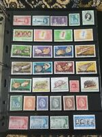 British Colonies St Vincent Grenadines Stamp Collection - Mint Hinged MH - E56