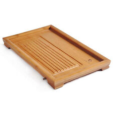 Simply and Easy Flat Bamboo Gongfu Tea Table Serving Tray Small Size TP096