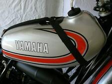 1974-1975 Yamaha Tank Straps, YZ125A YZ125B, Vintage Motocross, 74 YZ125A