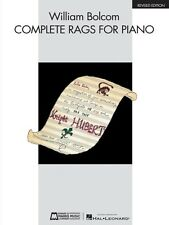William Bolcom Complete Rags for Piano Sheet Music Revised Edition Pia 000220018