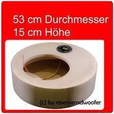 """Reserverad Gehäuse D x H 53cm x 15cm für 12"""" / 30cm Woofer ca. 23 Liter"""