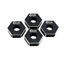 GDS Racing Extend Wheels Hex Hubs Black for Traxxas X-MAXX 1/5 RC Truck (4pc)
