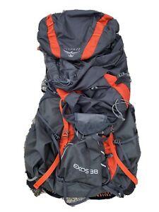 Osprey Exos Backpack 48, Medium, Orange, Used EXCELLENT Condition