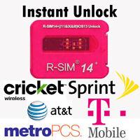 R-SIM 14+ Unlock Sim Turbo Card For iPhone 11 Pro Max XS X 8 7 6S 6 5 IOS 13 lot