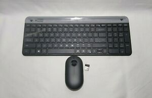 Logitech MK470 Slim Wireless Computer Keyboard & Mouse Combo, Blk 920-009437