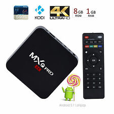 TV BOX MXQ PRO Smart Android 5.1 Quad Core 4K 1080P WIFI KODI Mini PC 1GB/8GB