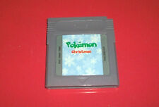 ## POKEMON CHRISTMAS - NINTENDO GAMEBOY & COLOR GBC GAME HOMEBREW FAN MADE