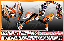 KTM 450/505/540 ATV GRAPHICS DECALS ALL YEARS