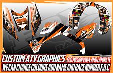 KTM 450/505/540 calcomanías de gráficos de ATV todos los años