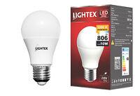 ES E27 10W = 60W LED light bulb Cool Neutral Warm White Globe A60 GLS bulbs