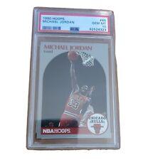 1990 Hoops #65 Michael Jordan Graded PSA 10 GEM MINT 10 ~ Tough Card!