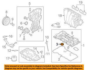 KIA OEM 15-17 K900 Engine Parts-Valve Cover Seal 224432E000