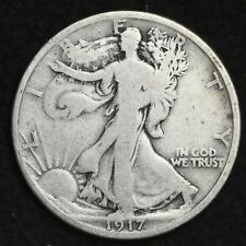 ** 1917 Walking Liberty Silver Half Dollar FREE SHIPPING!